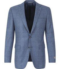wool checkered jacket
