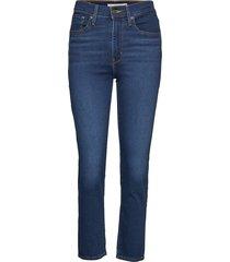 724 high rise straight london raka jeans blå levi´s women
