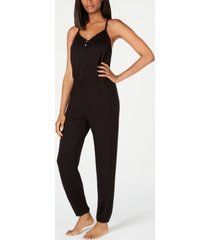 alfani knit pajama jumpsuit, created for macy's