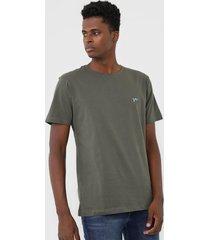 camiseta yachtsman logo verde