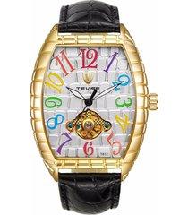 reloj, relojes de los hombres reloj de cocodrilo-multicolor