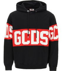 gcds hoodie with logo band