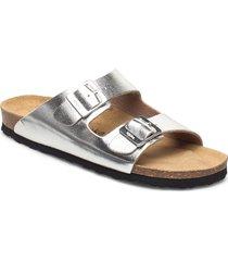 helsi shoes summer shoes flat sandals silver mjúka