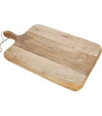 deska drewniana z rączką mango