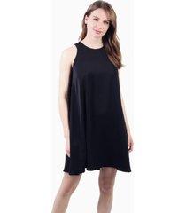 vestido bianca campana sin mangas negro jacinta tienda