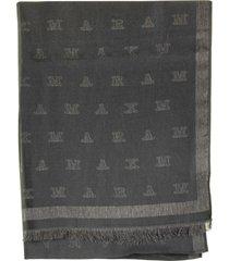 max mara magiaro monogram scarf