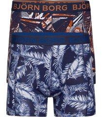 shorts bb palmleaf & bb la skyskraper 2p boxerkalsonger blå björn borg
