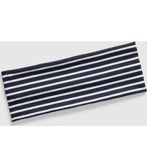 lane bryant women's opposites attract wide headband onesz black stripe