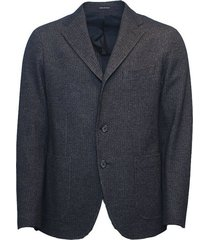 wool jersey blazer