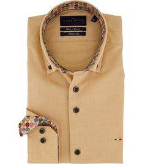 mouwlengte 7 overhemd portofino geel tailored fit