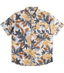 men's drifter cotton short sleeve shirt
