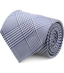 ox & bull trading co. glen plaid silk men's tie