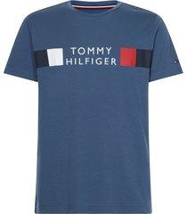tommy hilfiger t-shirt donkerblauw met opdruk
