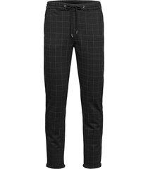 club pants with elastic waist casual byxor vardsgsbyxor svart lindbergh