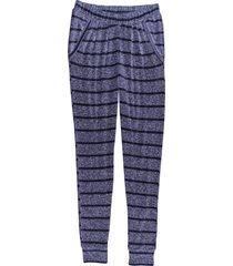 pantaloni pigiama morbidi (blu) - bpc bonprix collection