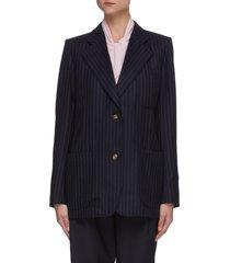 bowie' pinstripe blazer