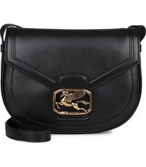 etro pegaso leather crossbody bag