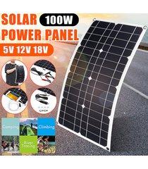 540x280x2.5mm 100w mono-cristalino panel solar panel solar flexible de carga para los coches al aire libre, camiones, caravanas, barcos, motocicletas, iluminación o cualquier 12v baterías de plomo-ácido - 1 panel solar