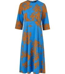 klänning slfjade-oriana 3/4 aop midi dress