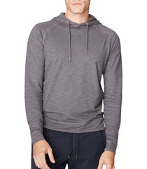 men's good man brand legend slim fit pullover hoodie, size xx-large - grey
