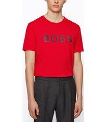 boss men's cotton regular-fit t-shirt