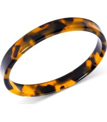zenzii tortoise-look bangle bracelet
