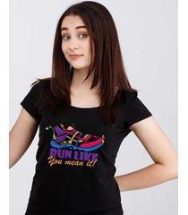 koszulka damska organiczna run like