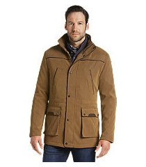 reserve collection traditional fit khaki parka clearance