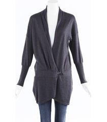 brunello cucinelli cashmere silk knit cardigan