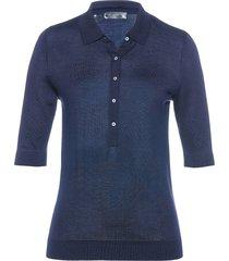 polo in maglia (blu) - bpc selection