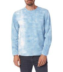 men's paige jaxton tie dye sweatshirt, size xx-large - blue