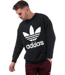 mens oversize trefoil sweatshirt