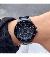reloj casio dama lrw-250h-1a1 en resina negro