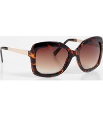 maurices womens tortoise metal oversized sunglasses brown