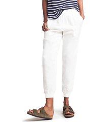 women's faherty arlie day pants, size xx-large - white