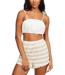 billabong juniors' breeze by striped shorts