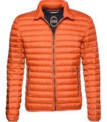 mens light down jacket fodrad jacka orange colmar