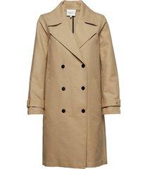 jamie coat trenchcoat lange jas grijs second female