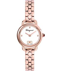 women's salvatore ferragamo varina bracelet watch, 22mm