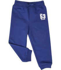 pantalon buzo basico twilight blue corona
