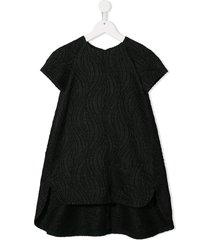 señorita lemoniez lava dress - black