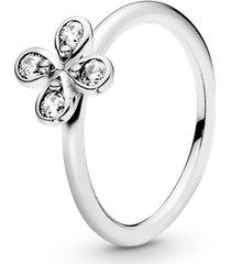 anel flores únicas