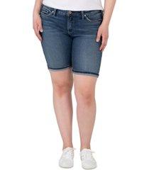 silver jeans co. plus trendy suki bermuda shorts