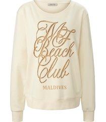 sweatshirt van margittes beige
