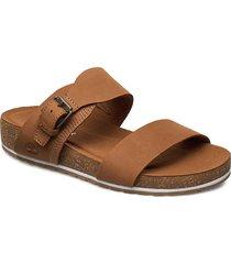 malibu waves 2 band slide shoes summer shoes flat sandals brun timberland