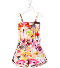 molo floral print playsuit - yellow
