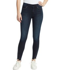 william rast perfect skinny studded jeans