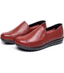 7109751c7dcde donna casual scarpe mocassini bassi in pelle morbidi e comodi a taglia  grande