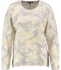 tommy hilfiger dunnere camouflage sweater linnen katoen