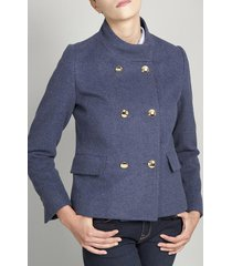 chaqueta mujer lisboa azul vintage liola